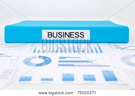 Business Concept, Graphs, Charts And Strategic Plan