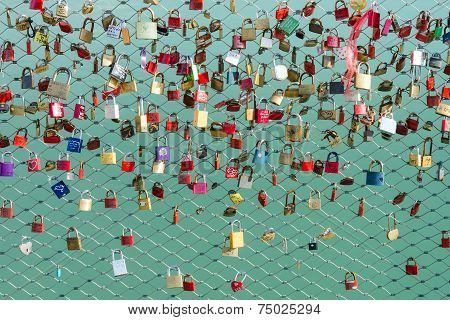 Locks On The Bridge Symbol Of Loyalty And Eternal Love