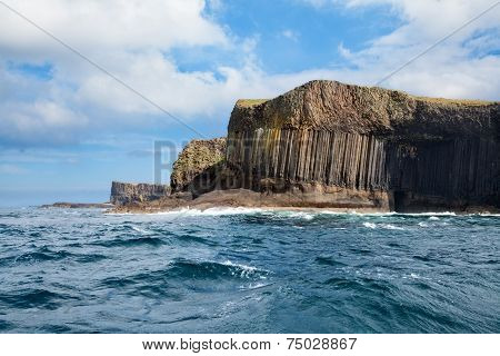 Isle Of Staffa From The Sea