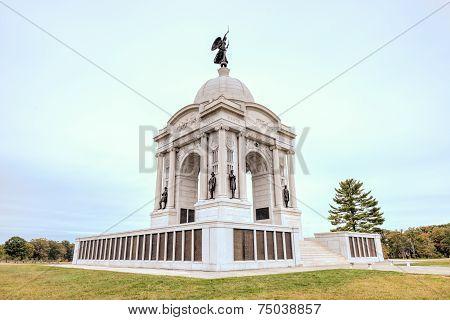 Pennsylvania Memorial Monument, Gettysburg, Pa