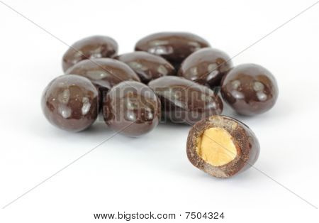 Bitten Chocolate Covered Almond