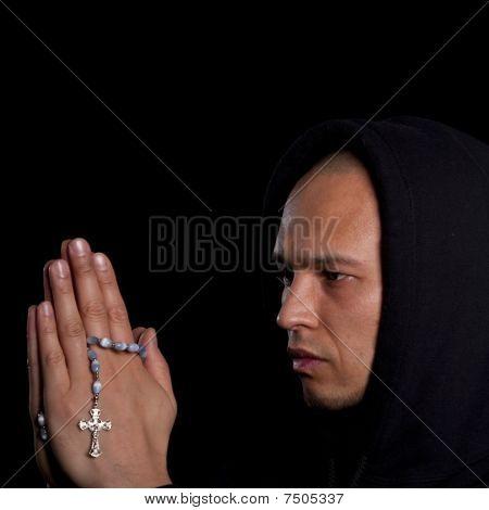 Young Man Praying