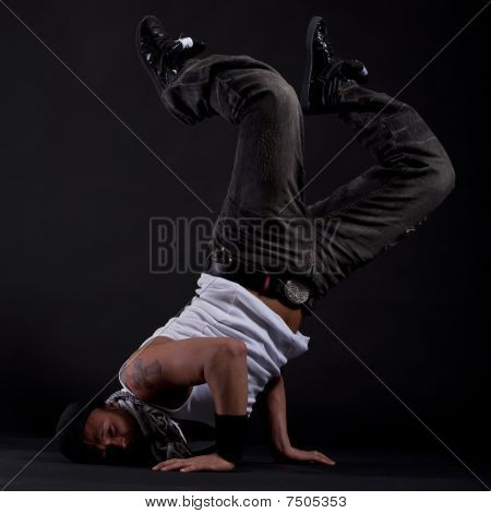Young Stylish Dancer