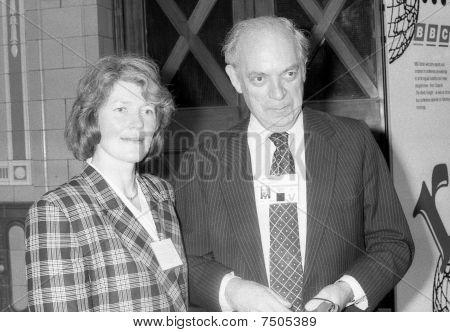 John Biffen & esposa Sarah