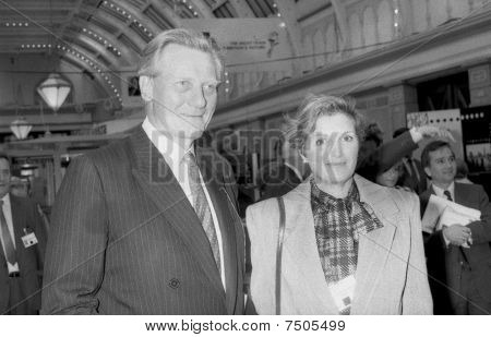Michael Heseltine with wife Anne