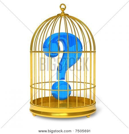 Question in cage
