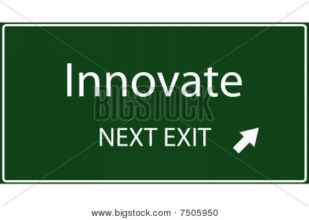 Innovate Vector Sign