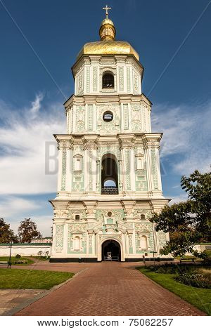 Bell Tower Of The Saint Sophia Cathedral