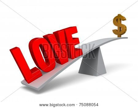 Love Outweighs Money