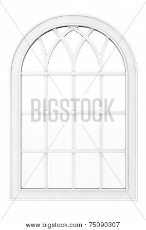 White Plastic Window