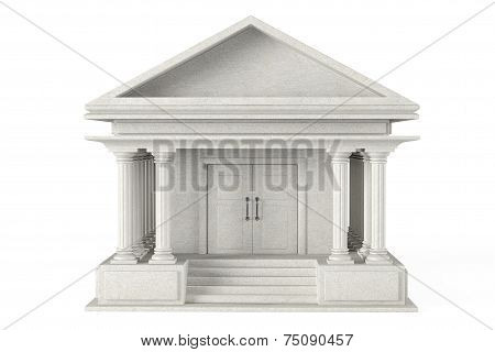 Ancient Colonnade Building