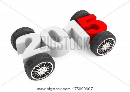 2015 Concept With Car Wheels