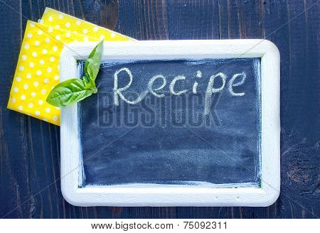 the Board menus and recipes