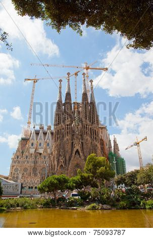 Basilica of La Sagrada Familia