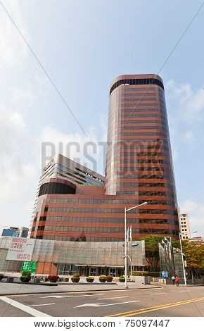 Skyscraper (1985) Of Samsung Life Insurance In Seoul