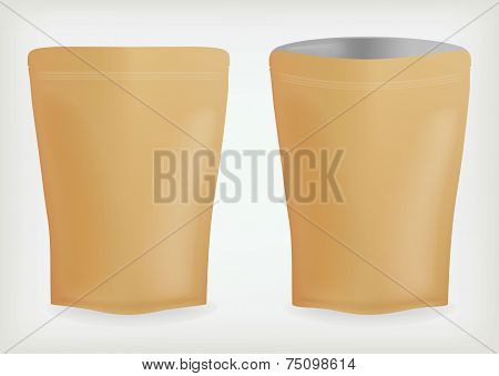 Bags for food foil