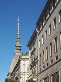 image of torino  - The Mole Antonelliana Turin Torino Piedmont Italy - JPG