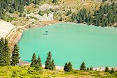 picture of shan  - Spectacular scenic Big Almaty Lake Tien Shan Mountains in Almaty KazakhstanAsia at summer