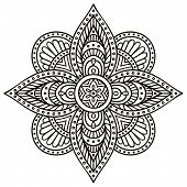 stock photo of indian  - Mandala - JPG