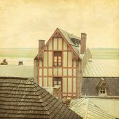 stock photo of michel  - Roofs of the Mont - JPG