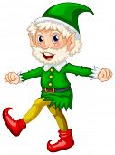 foto of elf  - illustration of a close up elf - JPG