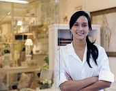 pic of arabic woman  - portait of small business owner - JPG