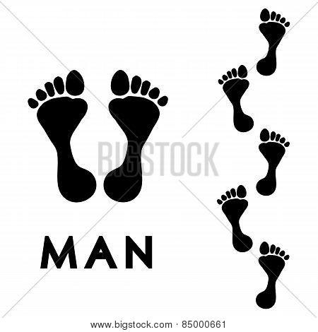 Men's Step Print