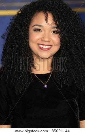 LOS ANGELES - MAR 1:  Aisha Dee at the