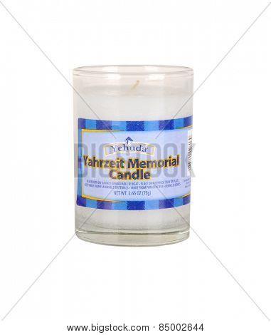 Los Angeles,California Feb12th 2015 Memorial yahrzeit Memorial Candle