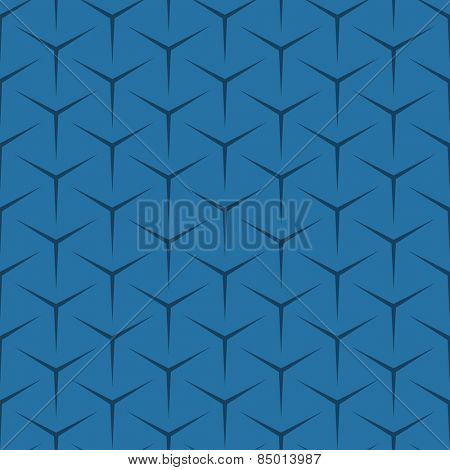 abstract cube seamless pattern