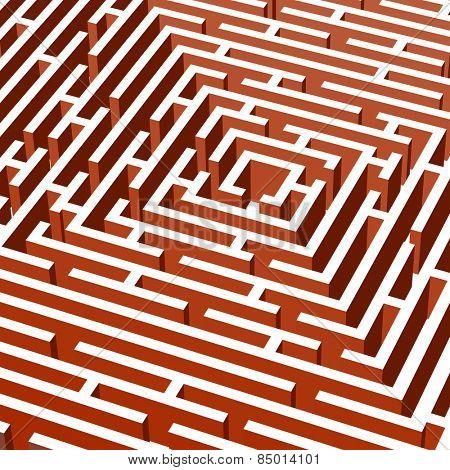 3d vector labyrinth