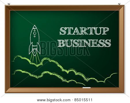 Startup Business Background Design