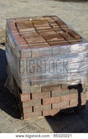 Paving Blocks Packed