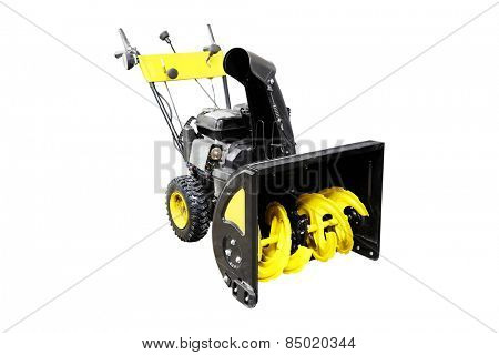 The image of snowplow