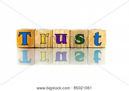 Buzzword Cubes: Trust