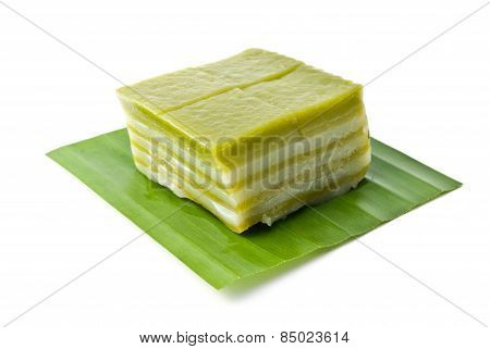 Thai Sweetmeat Or Khanom Chan Is A Kind Of Sweet Thai Dessert, Traditional Thai Dessert