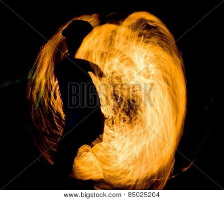 Gasoline Dance Human Torch