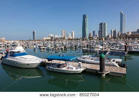The Sharq Marina In Kuwait