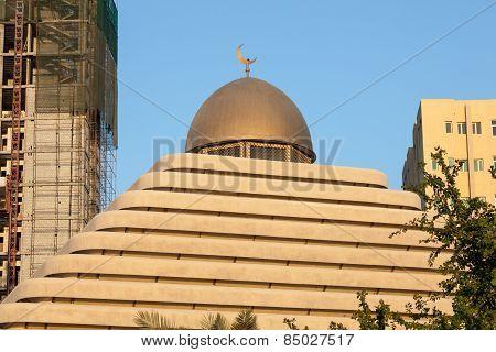 Pyramid Mosque In Kuwait