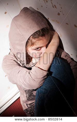Problemas adolescentes. Soledad, violencia, depresión