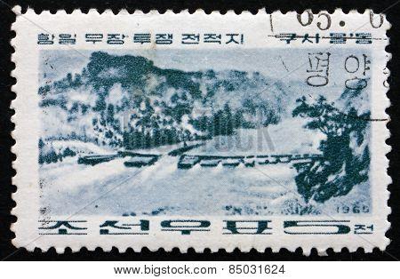 Postage Stamp North Korea 1965 Kusimuldong, Revolutionary Battle