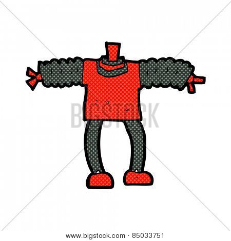 retro comic book style cartoon robot body (mix and match retro comic book style cartoons or add own photos)