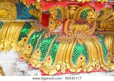 Art stucco Buddha base