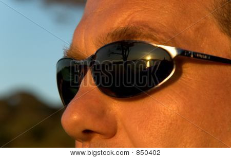 Man with sunglasses