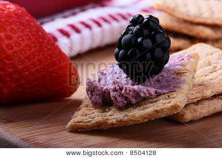 Wheat Crackers With Fruit