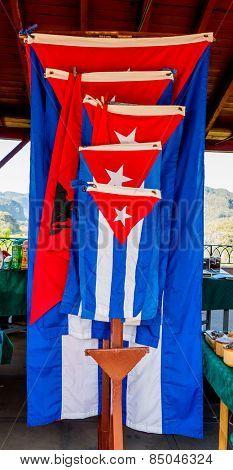cuba, caribbean, south america. cuban flag