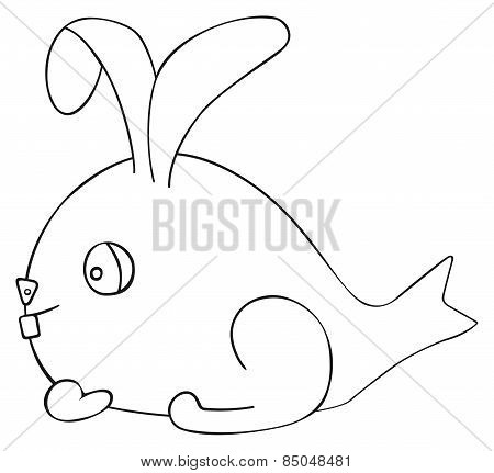 Happy Holiday - April Fish Hare