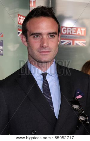 LOS ANGELES - FEB 20:  Joshua Sasse at the GREAT British Film Reception Honoring The British Nominees Of The 87th Annual Academy Awards at a London Hotel on February 20, 2015 in West Hollywood, CA