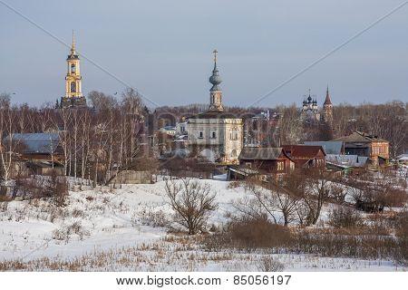 Suzdal church, winter