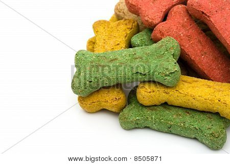 A Pile Of Dog Treats